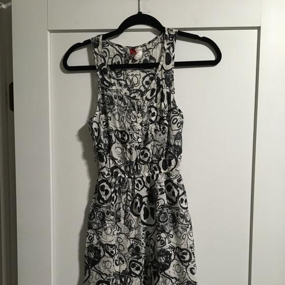 54abedb10916 Divided Dresses | Hm Skull Dress | Poshmark